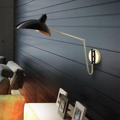 简约后现代壁灯个性LOFT卧室书房床头墙灯