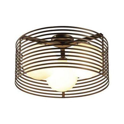 现代简约圆形餐厅卧室书房吸顶灯