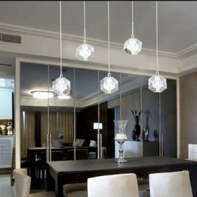 现代简约时尚水晶灯创意餐厅灯吊灯