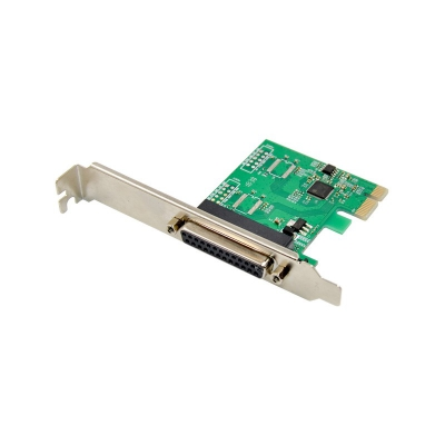 PCI Express AX99100 1P DB25 Parallel Printer port Control card