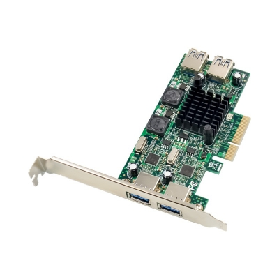 PCIE NEC720202 USB 3.0 Card Enhanced 4-Port
