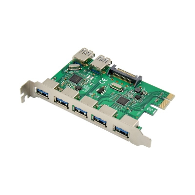 PCI Expreess VL805 USB 3.0 Enhanced 5+2 Expansion card