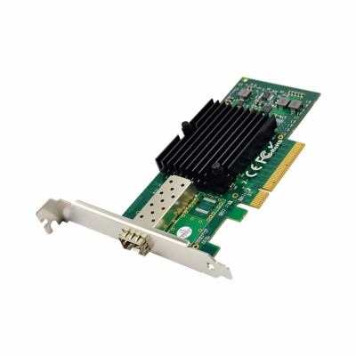 PCI Express 82599EN Single SFP+ 10GbE Ethernet Server NIC