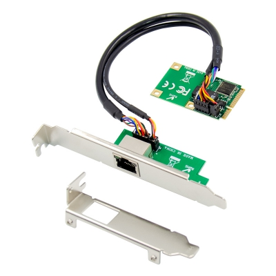 mini PCIE single Gigabit Ethernet Nic 82574L