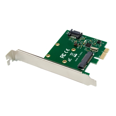 PCI-E ASM1061 mSATA & SATA 3.0 Extend Card